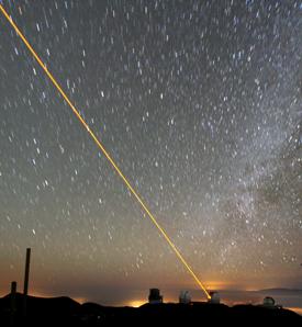 The Keck telescopes