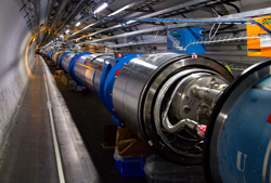 Picture of the Large Hadron Collider