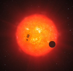 Start system with exoplanets