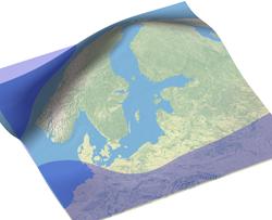 Land uplift of Scandinavia