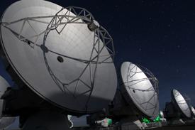 The ALMA telescope