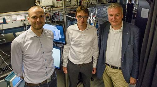 Søren Stobbe, Peter Lodahl og Lars Seier Christensen