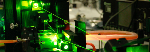 Laser in the quantum optics laboratory