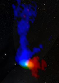 Observations of a young protostar about 450 light years away