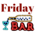 Read more about: Friday bar January