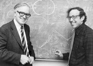 Aage Bohr and Ben Mottelson