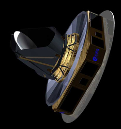 Concept art of the Planck Satellite