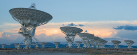 Expanded Very Large Array in New Mexico, USA
