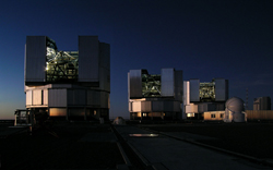 the European Very Large Telescopes