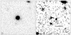 Pictures of galaxies and quasars