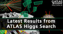 Link to the newest results on the ATLAS-website