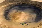 Rounded stones on Mars evidence of flowing water
