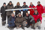 New Greenland ice core drilled through the Renland ice cap