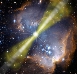 Jets generated from Gamma ray burst