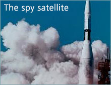 The spy satellite