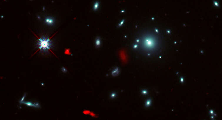 Image of the galaxy cluster RXCJ0600-2007