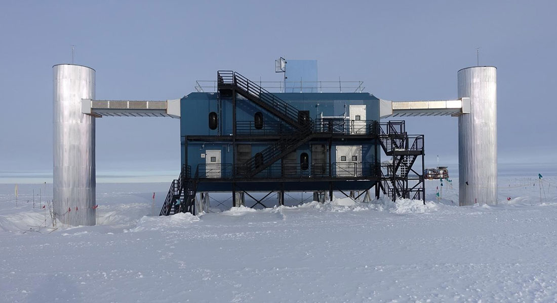 Scientists from Niels Bohr Institute are part of an international collaboration observing resonant interactions of high-energy neutrinos in Antarctica. The observation confirms a prediction made by Nobel laureate Sheldon Glashow while working at the Niels Bohr Institute in 1960.
