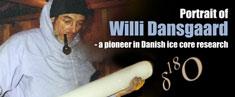 Portrait of Willi Dansgaard