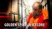 NBI NEWS: GOLDEN SPIKE IN ICE CORE