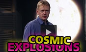 Cosmic explosions with Johan Fynbo, astrophysicist at the Niels Bohr Institute