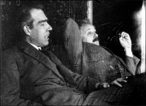 Bohr and Einstein used to debate a lot about predetermination