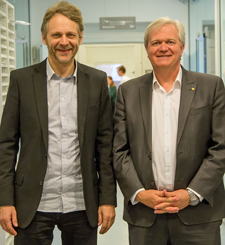 Brian Schmidt and Jens Hjorth