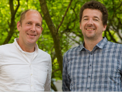 Niels Obers, professor and Troels Harmark, associate professor
