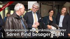 Besøg fra Undervisningsminister Søren Pind