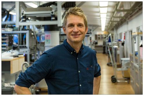 Peter Krogstrup i QDEV laboratoriet